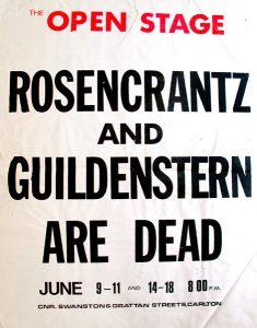 Rosencrantz and Guildenstern are Dead 1977 Poster