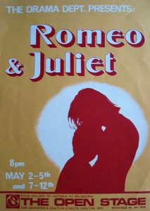 Romeo and Juliet 1979 Poster