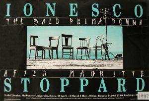 The Bald Prima Donna 1987 Poster