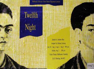 Twelfth Night 1987 Poster