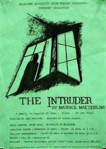 The Intruder 1988 Poster