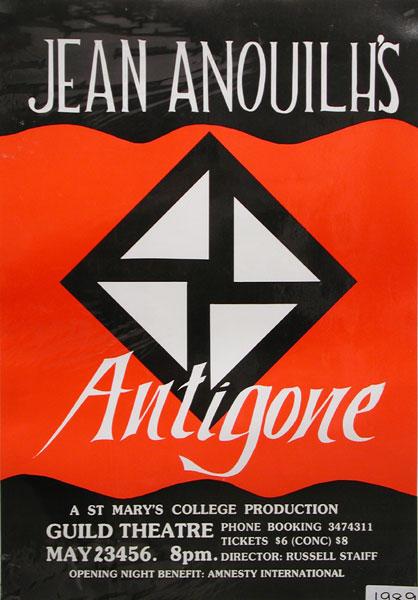 Antigone 1989 Poster