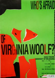 Who's Afraid of Virginia Woolf 1989 Poster