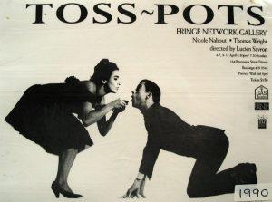 Toss Pots 1990 Poster