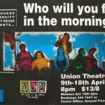 Who Will You Feel In The Morning Comedy Revue 1992 Poster