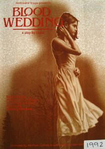 Blood Wedding 1992 Poster