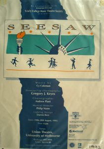 Seesaw 1992 Poster