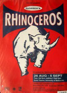Rhinoceros 1992 Poster