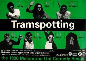 Tramspotting Comedy Revue 1996 Poster