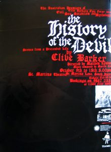 The History of the Devil 1997 Poster