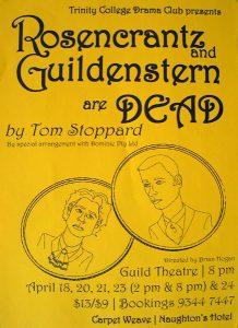 Rosencrantz and Guildenstern are Dead 1999 Poster