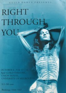 Right through You 1999 Poster
