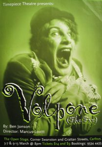 Volpone (The Fox) 1999 Poster