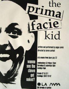 The Prima Facie Kid 1999 Poster