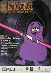 The Phantom Grimace 1999 Poster