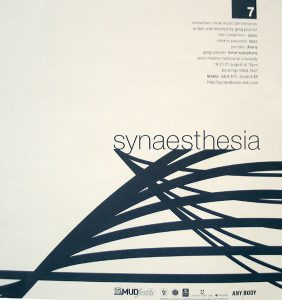 Synaesthesia 1999 Poster