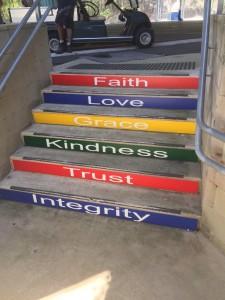 SALC Values steps