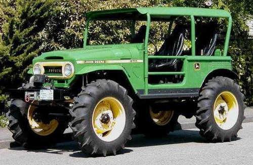 John Deere Tractor Jeep
