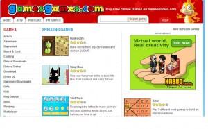 spelling games games