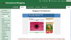 Educational blogging mrs yollis