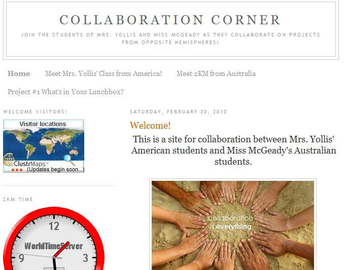 collaboration corner