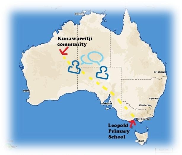 Map Australia Kunawarritji 2