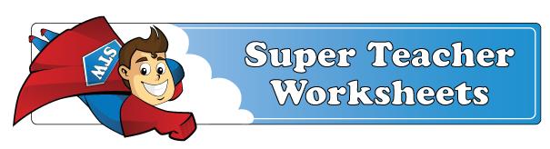 Super Teacher Worksheet