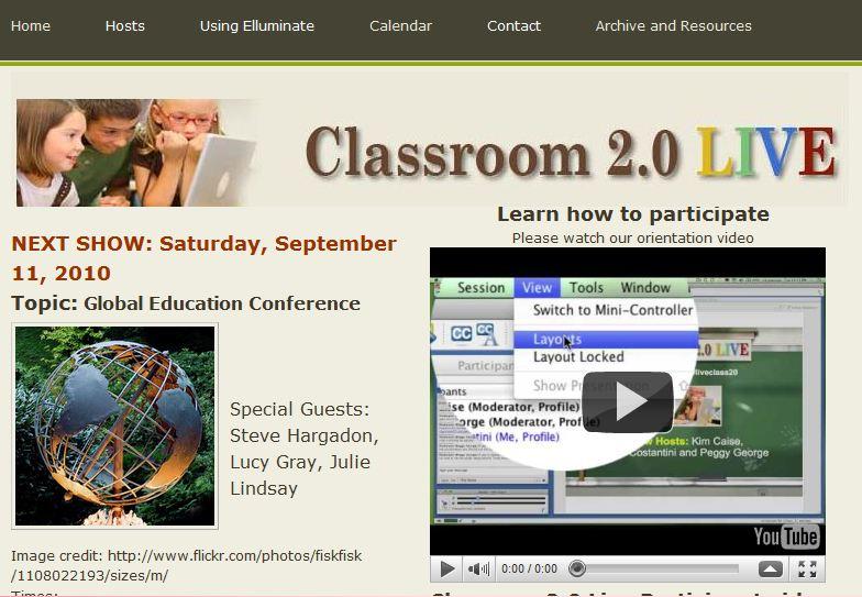 classroom2.0 live