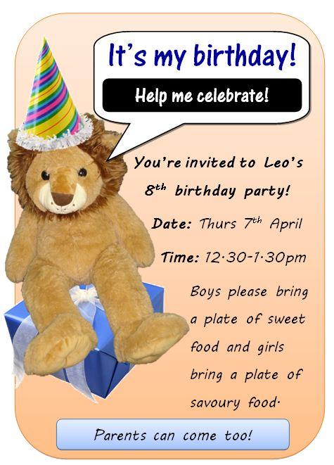 Leo invite