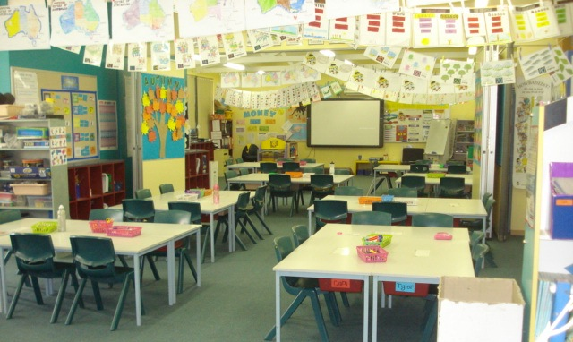 Classroom Ideas For Primary School ~ Team teaching two teachers classes in one open