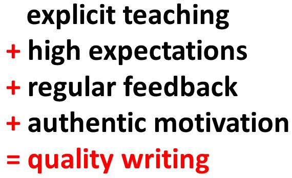 Quality Writing K Morris