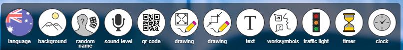 Classroomscreen icons