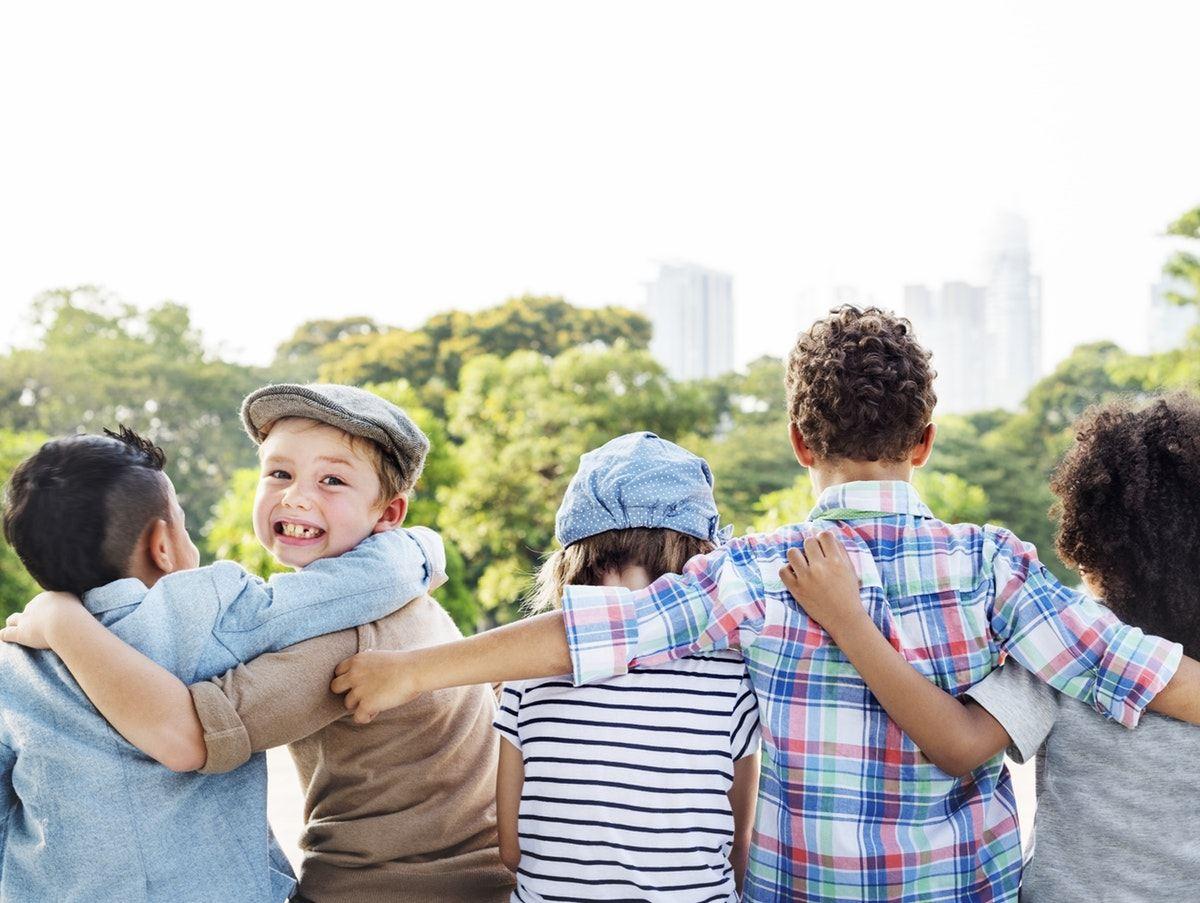 Children hugging | Comments for kids still count | Kathleen Morris