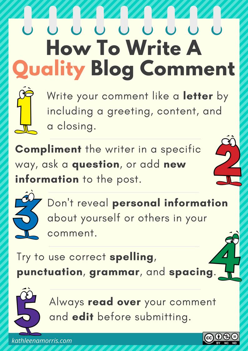 Help to write a blog