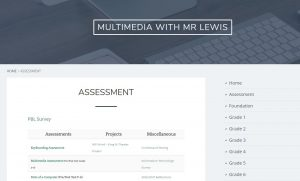 Multimedia with Mr Lewis screen capture