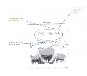 Sample 1 text annotated
