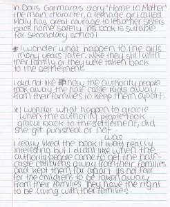 TEAL Writing task 19 - Student sample 3