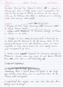 TEAL Writing task 19 - Student sample 5