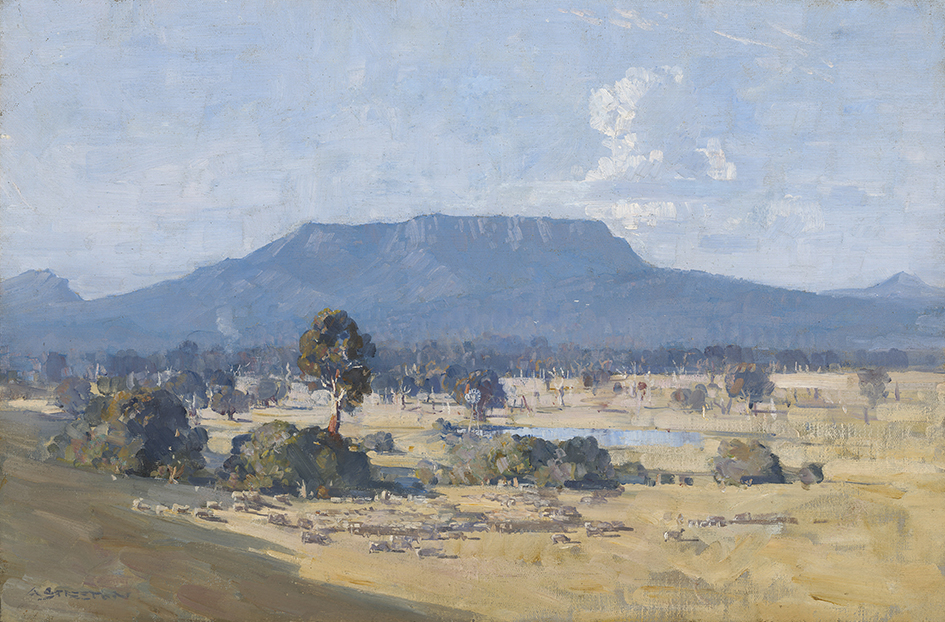 Arthur Streeton_Land of the Golden Fleece_1926_NGA_approved trim_screen res