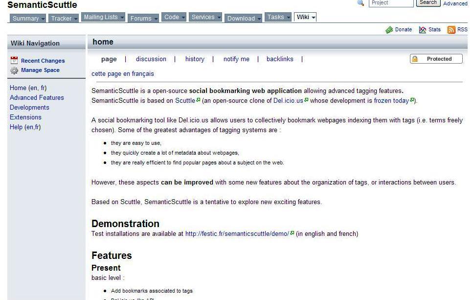 SemanticScuttle wiki