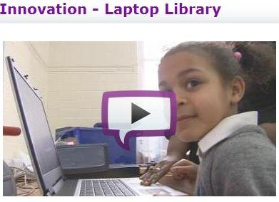 Teachers TV laptop program video