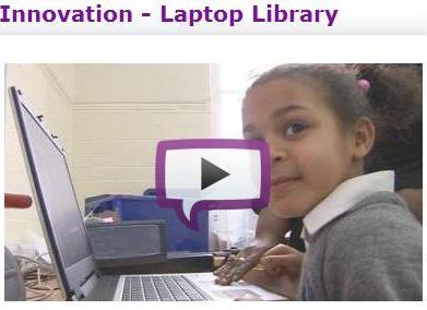 Teachers TV laptop program video