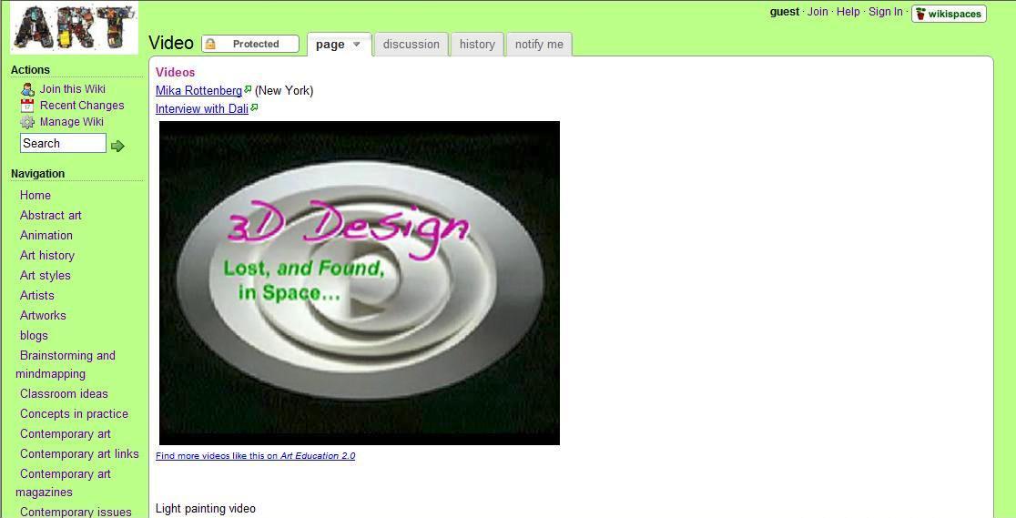 Feature wiki - Tania Sheko's art wiki