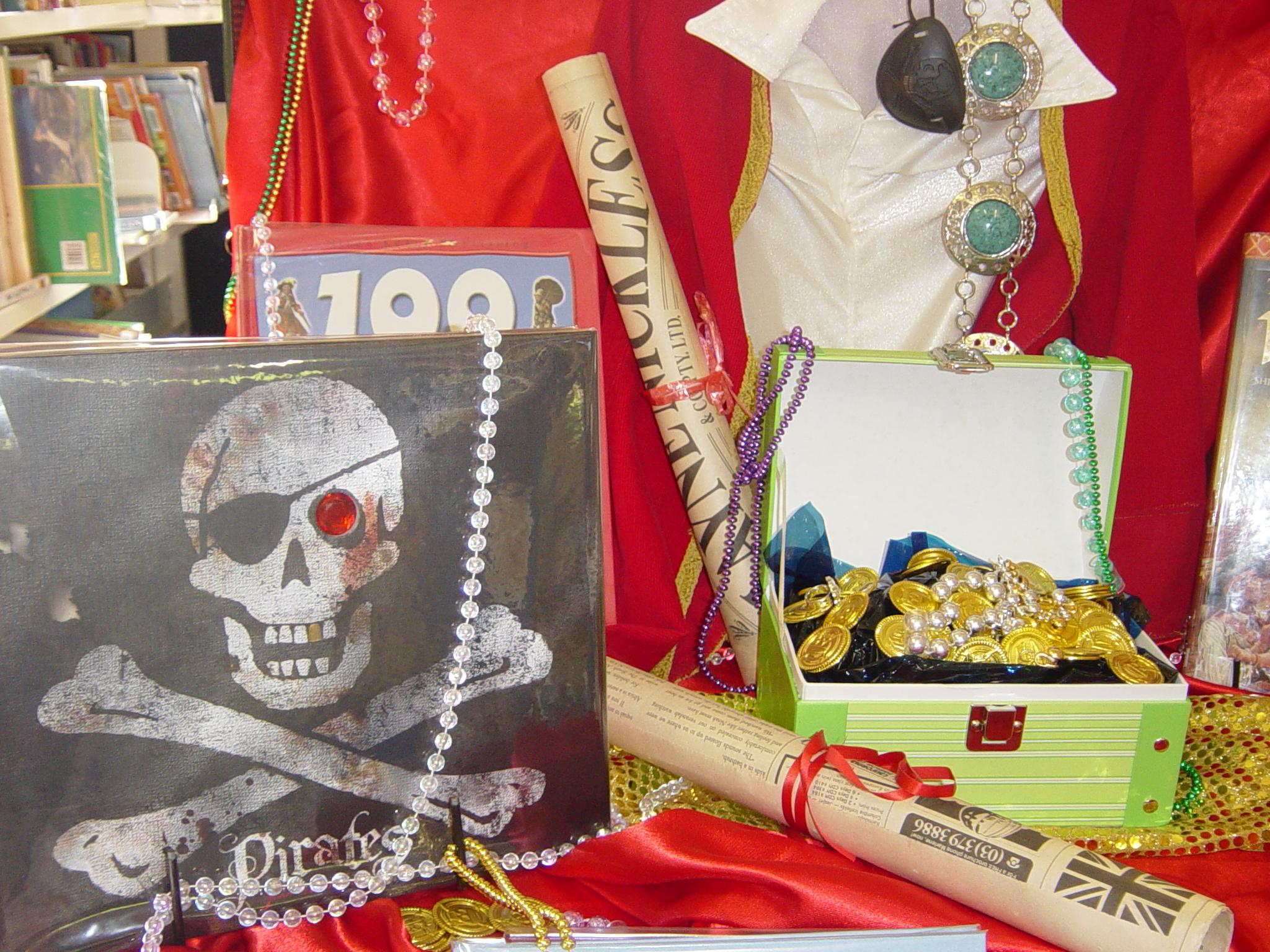 Pirates display