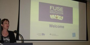 Innovation and Next Practice Branch Assistant General Manager Katrina Reynen at the release of FUSE