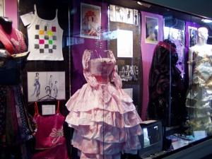 Design - Tech Fabrics display
