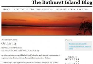 Bathurst Island blog