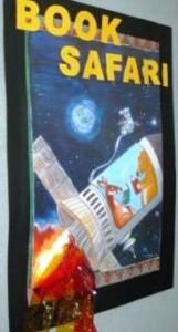 Book Week Rocket Poster