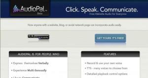 AudioPal homepage