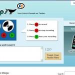 Chirps homepage
